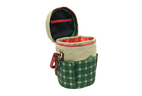 alite designs bucket cooler- Save 38% Off - This bucket-shaped cooler is good for any expedition. It's your perfect picnic companion and/or date to the park (FYI it fits 10 beers). Toss it over your shoulder to tote refreshments to the beach or park. Grab a few friends or make some when you get there.  Features:  - Fits up to 10 beverage cans or snacks for a small crowd  - Structured handles allow for comfortable transport   - Removable waterproof liner allows for easy cleaning,   - Mesh zipper pouch under lid provides utensil storage  - Volume: 8.2 liters  - Material: Insert: PVC free tarpaulin | Bag: 600D poly, 450D poly (printed)  - Dimensions: 13.0
