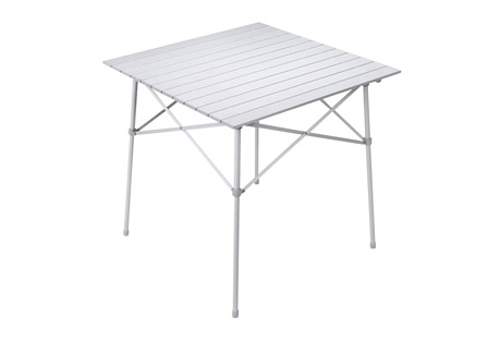 alps mountaineering camp table- Save 40% Off - Your camping or tailgating experience won't be complete until you try the camp table. This table is perfect for setting your food on after a long hike or throughout the day while you're cheering on your team. It is made of aluminum so it's lightweight, yet sturdy. When it's time to go home, the Camp Table legs and table top fold into a convenient carry bag, which is ideal for transporting and storage.  Features:  - Fold-up Top with Side Supports  - Folding Aluminum Frame  - Carry Bag Included!  - Carry Bag Size: 4