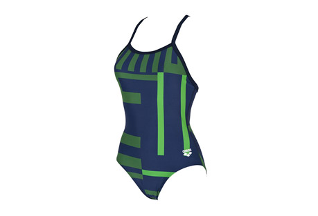 arena electron one piece smooth back - women's- Save 50% Off - Arena Size Chart  Embrace the retro in the geometric print on display with arena Women's Electron Smooth Back One Piece. Featuring PolyTech fabric for soft-to-the-touch feel and the Smooth Back style for added coverage without sacrificing freedom of movement, this suit is the perfect combination of comfort, durability and style. Includes a front lining for added support and privacy.  Features:  - PolyTech fabric  - Smooth back for added coverage  - Full freedom of movement  - Front Lining for added support & privacy  - 80% Polyester 20% Elastane