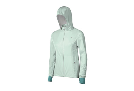asics accelerate jacket - women's- Save 53% Off - ASICS Apparel Size Chart  A luxurious, lightweight jacket engineered for maximum storage and dryness. The Accelerate Jacket is waterproof and breathable, with zip vents for airflow and reflective detailing to keep you visible. The water resistant chest and hand pockets keep your stuff dry so that you can focus on your run, no matter what Mother Nature throws at you.  Features:  - Lightweight, breathable 10k/10k waterproof/breathable 2.5 layer stretch fabric with DWR finish  - Water resistant and reflective center front zipper  - Media loop at inside collar  - Reflective details and logo  - Fully seam-sealed  - Water resistant hand pockets with media port  - Zippered vents  - Alternate image shows different colorway, yet accurately displays product features