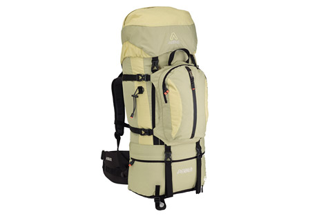 Asolo Encounter Elle 60 Backpack - Womens - sage/wheat, one size