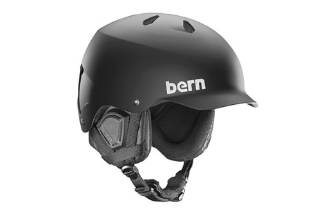 bern watts eps 8track snow helmet- Save 30% Off - Size Chart  The original visor helmet serves up a unique style with comfort and protection so whether you're on your board, bike, the slopes, or in the water, the Watts, will have a model to match your needs.   The EPS/Thin Shell model is a certified helmet for both bike and snow. This model uses a thin ABS shell lined with EPS Foam to create a burly lightweight lid. A certified helmet is designed to crack and absorb a gnarly impact, much like you may encounter should you take a hard spill on the hill or riding your bike. Depending on the season your helmet will come with either an EPS Summer Comfort Liner or an EPS Winter Liner and you can buy the alternating season's liner based on your needs to keep up with you through the seasons.   Features:  - Crank Fit Adjustment System  - Weight: 17-17.7 oz  - Standards: ABS Hardshell with EPS Foam, CPSC, ASTM, F2040,EN1077B,EN1078  - Liner: EPS  - Last Chance: Discontinued Style  Sizing:  - S/M: 54 - 57 cm  - L/XL: 57 - 60.5 cm  - 2XL/3XL: 60.5 - 63.5 cm