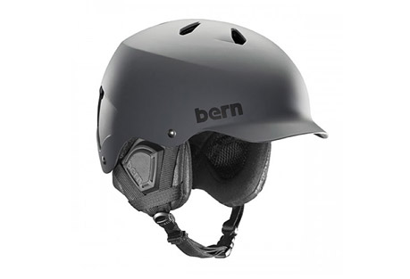 bern watts eps helmet - 2016- Save 27% Off - The original visor helmet serves up a unique style with comfort and protection so whether you're on your board, bike, the slopes, or in the water, the Watts, will have a model to match your needs.   The EPS/Thin Shell model is a certified helmet for both bike and snow.  A certified helmet is designed to crack and absorb a gnarly impact, much like you may encounter should you take a hard spill on the hill or riding your bike.  This model uses a thin ABS shell lined with EPS Foam to create a burly lightweight lid.  Features:  - Weight:  17-17.7 oz  - ABS Hardshell with EPS Foam  - Meets ASTM F 2040 and EN 1077B standards for snow and ski, CPSC and EN 1078 standards for bike and skate  Size Information:  - S/M:  20.25 - 22.5in circumference  - L/XL:  22.5 - 23.5in circumference  - XXL/XXXL:  23.5 - 25in circumference