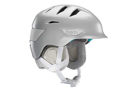 bern hepburn helmet - women's 2016- Save 44% Off - Size Chart  The Hepburn features Bern's Zip Mold technology for light weight and a low profile.  A BOA fit system allows for a precise fit and the internal vents are also adjustable.   Features:  - Weight 475g  - Meets CPSC, ASTM F 2040, EN 1077B, EN 1078 standards  - Zip Mold construction  - Internal adjustable vents  - Cold weather liner with micro adjustable fit system  - Last Chance: Discontinued Style  Sizing:  - XS/S: 52 - 55.5 cm  - S/M: 54 - 57 cm