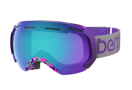bern monroe goggle - women's 2016- Save 40% Off - This premium large frame goggle is made with Bern's PLUSfoam for extreme lightweight and a soft comfortable fit.  Its fast change lens system uses 7 points of contact for a secure hold, and spherical lens design reduces distortion.  Features:  - Women's large frame  - Lens Color:  Blue with light mirror  - Spherical lens for excellent peripheral vision  - Insulation and airflow minimize fogging  - 7 point quick-change system  - PLUSfoam is soft, lightweight, and 100% recyclable  - Last Chance:  Discontinued Style