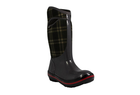 Bogs Plimsoll Plaid Tall Boots - Women