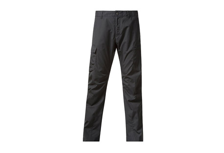 Bergans Vemork Pant - Men's: Save 48% Off - Bergans Size Chart  Durable and wind-repellent hiking pants for hiking and outdoor. The fabric is wind- and water-repellent, making it a great choice for camping or hiking. Articulated knees encourage full freedom of movement.  Features:  - Belt loops and internal suspender loops  - Articulated knee sections  - Buttonholes for the option to insert elastic at bottom leg  - Fabric: Pants in a wind-repellent fabric. The outer fabric has a water-repellent effect that will wash out over time. Can be re-impregnated  - Front pockets and thigh pockets  - Material: 65 % Polyester/35 % Cotton  - UPF 50+  - Weight: 445 g