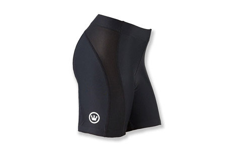 canari hybrid short - women's- Save 47% Off - Canari Women's Size Chart       Stay cool as you ride in these padded cycling shorts from Canari with mesh side panels for temperature control and will stay put thanks to their elastic leg grippers. The shorts have a 6-inch inseam and a wide elastic waistband designed to sit low on the hips.   Features:  - Pro Nylon, 82% Nylon 18% Spandex  - Performance compression fit  - 6