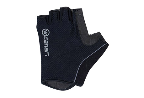canari essential gloves - men's- Save 50% Off - Canari Apparel Size Chart  Just that... the essential glove for any ride. These gloves feature open cell foam padding with quick-drying stretch mesh and a perforated synthetic leather palm with microfiber thumb wipe. The contoured cuffs have simple and reliable hook-and-loop closure.  Features:  - Moisture wicking 4-way stretch mesh with multi density open cell foam padding  - Perforated synthetic leather palm and microfiber thumb  - Contoured cuff with under wrist hook and loop closure