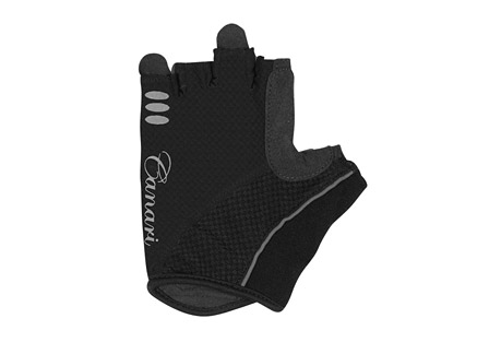 canari aurora gloves - women's- Save 40% Off - Canari Apparel Size Chart  Cushion your grip with this gel padded glove. The Aurora gloves have a 4-way stretch mesh body, with a synthetic leather palm and microfiber thumb. Their gel padding absorbs shock. Canari's signature crown finger pulls make removal easy.  Features:  - Moisture wicking 4-way stretch mesh with perfectly placed gel padding  - Perforated synthetic leather palm and microfiber thumb  - Signature crown finger pulls for easy removal  - Hook and loop closure  - Alternate images do not reflect actual color