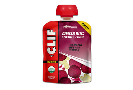clif energy food banana beet w/ ginger - box of 6- Save 34% Off - The next generation of sports nutrition. Inspired by the home recipes of Team Clif Bar athletes, each recipe is designed to provide endurance athletes with energy from real food ingredients like those they could find in their own kitchens, satisfying cravings for either real fruit or salty comfort food.  The power of beets and stomach calming of ginger  Features:  - For any distance activity  - Made from real food ingredients  - Refreshing Fruit Flavor  - USDA Organic, Gluten Free, Kosher  Ingredients:  - Organic Banana Puree, Organic Beet Juice Concentrate, Citric Acid, Sea Salt, Organic Ginger.