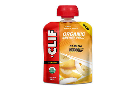clif energy food banana mango w/ /coconut - box of 6- Save 34% Off - The next generation of sports nutrition. Inspired by the home recipes of Team Clif Bar athletes, each recipe is designed to provide endurance athletes with energy from real food ingredients like those they could find in their own kitchens, satisfying cravings for either real fruit or salty comfort food.  Sweet banana and cool mango, plus coconut shreds  Features:  - For any distance activity  - Made from real food ingredients  - Refreshing Fruit Flavor  - USDA Organic, Gluten Free, Kosher  Ingredients:  - Organic Banana Puree, Organic Mango Puree, Organic Coconut Cream, Organic Coconut, Sea Salt, Citric Acid. ALLERGEN STATEMENT: Contains Coconut