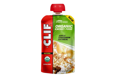 clif energy food apple cinnamon oatmeal - box of 6- Save 41% Off - The next generation of sports nutrition. Inspired by the home recipes of Team Clif Bar athletes, each recipe is designed to provide endurance athletes with energy from real food ingredients like those they could find in their own kitchens, satisfying cravings for either real fruit or salty comfort food.  Meet your morning with oats, sweet apples and a hint of cinnamon.  Features:  - Consume 2-3 hours before activity  - Made from real food ingredients  - Classic oatmeal flavor  - USDA Organic, Non-GMO, Kosher  Ingredients:  - Organic Oatmeal (Water, Organic Oats), Organic Apple Puree, Organic Apple Juice Concentrate, Organic Sunflower Seed Butter, Organic Quinoa, Organic Maple Syrup, Sea Salt, Organic Cinnamon, Citric Acid.  ALLERGEN STATEMENT: May contain wheat.