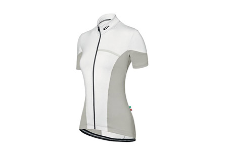 Campagnolo Lunar Full-Zip Jersey- Womens - white, x-large