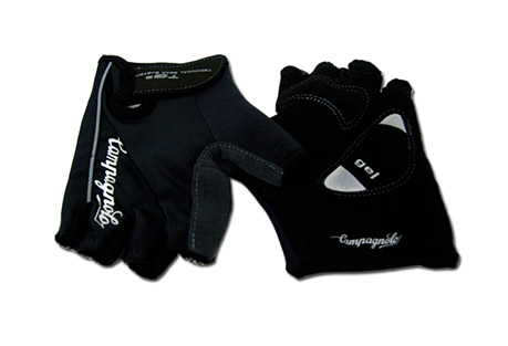 Campagnolo Net Gloves - Mens - black/white, small
