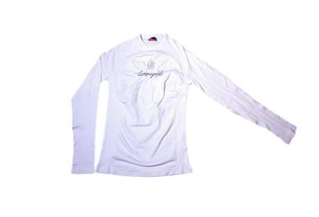 Campagnolo Seamless Long Sleeve Jersey - Mens - white, m/l