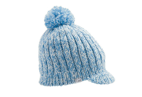 Coal Emily Brim Beanie - Wms - blue, one size
