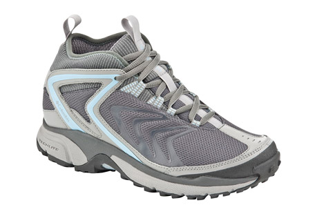 Columbia Ravenice Omni-Tech Mid Shoes - Womens - grill/paradise sky, size 8.5
