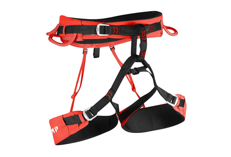 camp usa jasper cr3 harness- Save 42% Off - The fully updated Jasper CR3 is a lightweight, high impact harness designed to handle any kind of climbing from trad to sport to ice to alpinism. Comfort is assured with innovative thermoformed EVA padding (6 mm on the waist and 4 mm on the legs). The leg loops are adjustable to handle different seasons and different layering systems. After adjusting the size, the excess tail can be completely tucked away on the side of the leg loop to keep it hidden and protected while climbing. Auto-locking steel buckles on the waist and legs are easy to operate and the 4 gear loops are designed for optimal functionality with the front loops ergonomically molded for fast access to gear and the rear loops softer and more compact to maintain a low profile. The integrated slots for the Hub racking carabiners have also been updated: they are positioned higher and built with more rigidity for optimal stability of the Hub racking biner making screws and pins easier to engage. A haul loop on the rear rounds out the features on this versatile harness.  Features:  - Adjustable legs with innovative hidden webbing system  - Thermoformed EVA padding (6 mm on the waist, 4 mm on the legs)  - Auto-locking steel buckles on the waist and legs  - Elastic straps that connect the waist and legs in the rear are detachable with steel hooks  - 15 mm belay loop  - 4 gear loops are optimized for fast access to gear  - 2 integrated slots for Hub racking carabiners  - Haul loop  - Weight: 402 g, 14.2 oz (Size M)  Sizing:  - Small: 24.4 - 29.1 in. (waist), 19.3 - 23.2 in. (legs)  - Medium: 28.3 - 33.1 in. (waist), 21.7 - 25.6 in. (legs)  - Large: 31.1 - 35.8 in. (waist), 23.6 - 27.6 in. (legs)  - X-Large: 34.3 - 39.3 in. (waist), 25.6 -29.5 in. (legs)
