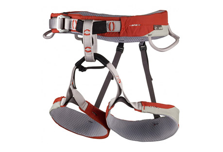 cassin laser harness- Save 40% Off - Working from the minimalist design of the Laser, the Laser CR incorporates the same advanced laminate construction and contoured cut, but delivers more versatile features like extra padding, adjustable leg loops and a haul loop. The waist and leg loops are constructed from laser cut webbing fixed to a laminated structure of 2 mm foam padding and soft 3-dimensional honeycomb mesh. The exterior fabrics are designed to withstand the abrasion typical of big routes. The gear loops are stiffened to keep draws at the ready, the patented No Twist belay loop is great for piece of mind during belays and rappels, and the strong haul loop will trail a rope or anything else you need to drag behind. The Laser CR is truly a marvel with its exceptional blend of comfortable padding, ergonomic contours, and big route features.  Features:  - 424 g, 15.0 oz (Size M)  - No-Twist Belay Loop: Yes  - Flat Link Leg Straps: No  - Haul Loop: Yes  - Drop Seat: No
