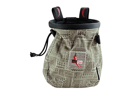 red chili giant chalk bag- Save 37% Off - THE NEW GIANT CHALKBAG!Big, bigger, GIANT! Logo batch, incl. belt! Drawstring with a cinch stop keeps your chalk in the bag.