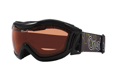 crush venus goggles- Save 50% Off - The Venus are sleek women's snow goggles designed for performance and fit. They have a comfortable contoured frame with padded foam at key locations. The lens are durable, scratch resistant, and protect your eyes from harmful solar rays.  Features:  - Form fitting flexible contoured frame designed for performance and style  - Soft multi density molded face foam for comfort fit  - All weather vent foam releases condensation  - Scratch resistant, anti-fog dual pane lens construction  - 100% ultra violet light protection  - High retention custom strap  - Helmet compatible