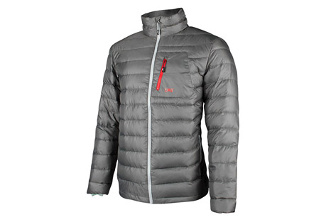 CIRQ PAX 700 Down Jacket - Men's: Save 61% Off - Nothing beats down's warmth to weight ratio, ease of care and versatility. Cirq's Pax down jackets and vests are a great investment in warmth.  They'll serve as standalone outerwear or as insulation under your waterproof shell of choice (we recommend the Rudy 3-Layer jacket for the ultimate cold weather system). Once you put on the Pax, it'll become a trusted companion for a day of deep snow, cool morning campsites or fall afternoon walks.   Features:  - 90/10 Premium Goose Down  - 700 Down Fill Power  - Shell & Lining: 2OD 100% Polyester Down Proof Mini Ripstop   - Teflon DWR Coating   - Interior Hem Drawcord   - Hidden Elastic Cuff  - 2 Zipper Handwarmer Pockets  - 1 Zipper Chest Pocket  - Brushed Tricot Lined Chin Guard  - Interior Pack Pocket with Zipper  - YKK Premium Zippers  - Total Garment Weight (Large): 13 ounces