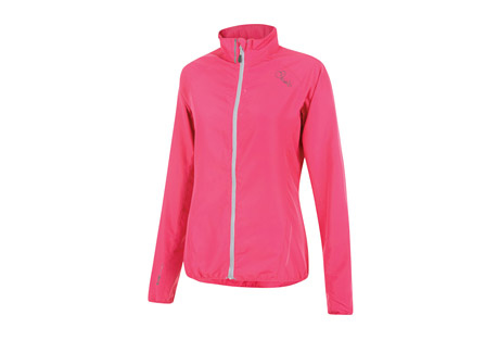 dare 2b blighted windshell jacket - women's- Save 57% Off - Size Chart The women's Blighted Windshell is a super lightweight ILUS fabric jacket with a showerproof finish. Designed for all weather-commutes, rainy weekend rides or runs, it features elasticated cuffs and hem for a neat, close fit and reflective details to help keep you seen during low-light.  Features:  - Ilus Windshell lightweight polyester fabric  - Wind resistant fabric  - Water repellent finish  - Elasticated cuffs and hem  - Reflective detail for enhanced visibility  - 100% Polyester