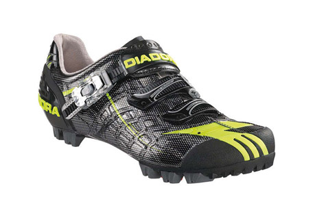 Diadora Protrail 2.0 MTB Shoes - Mens - black/yellow, euro 41
