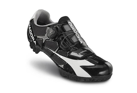 Diadora X-Vortex MTB Shoes - Mens - black/white, eu 43.5