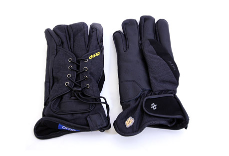 Drop Laced Up Gloves - Mens