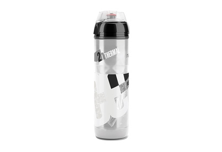 elite iceberg thermal water bottle 650ml- Save 33% Off - The Iceberg combines thermal efficiency and ergonomic design for a superior level sports bottle. Its double wall structure keeps liquids cold for up to 2 hours. The transparent body makes it easy to see the fluid level, and is squeezable for easy dispensing.  Features:  - Isothermal double wall structure  - Thermal performance: up to 2 hours with cold liquid  - Bottle body in transparent easy-squeeze polyethylene  - Ergonomic grip  - Cap with soft rubber push-pull nozzle and protective cap  - Capacity: 650ml