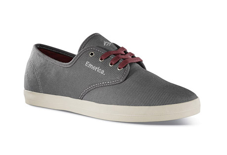 Emerica The Wino Shoe - Mens - grey/grey, size 9