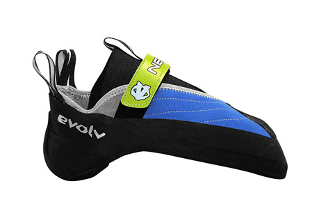 evolv nexxo climbing shoes - men's- Save 46% Off - New to the Chris Sharma Signature Series, the Nexxo represents for Evolv a new way of approaching how they build shoes, how they engineer performance, and how they bridge to a higher level of design. It is soft yet it is powerful. It is convenient and it is precise. The Nexxo ushers in a new era of Evolv's Ultra-Performance climbing footwear.  Features:  - Synthetic forefoot for ultimate performance  - Leather from mid to rear for comfort  - Microfiber lining in the forefoot for comfort, performance, and durability  - Combination of