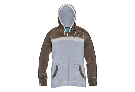 Foursquare Stripe Swipe Fleece-Womens