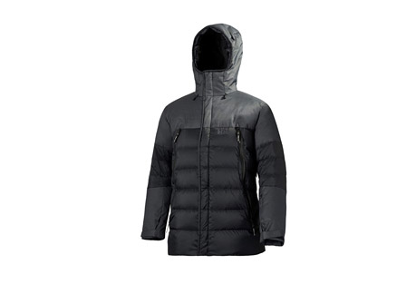 Helly Hansen Mission Down Jacket   Mens   black, small