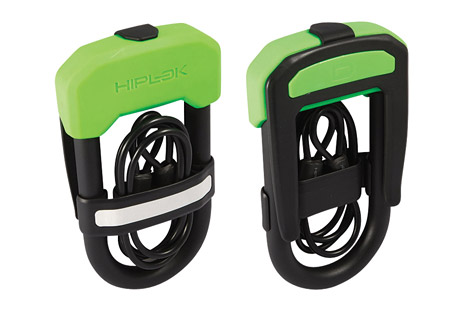 hiplok dc bike lock w/ cable- Save 38% Off - The world's first D-lock (U-lock) and cable duo offering high security in one easy to carry package. The DC consists of a high security D-lock with the added benefit of a 1 meter steel cable clipped neatly into the