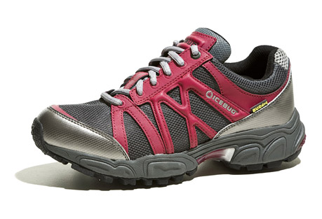 icebug attla-l bugrip wp trail shoe - womens- Save 48% Off - Features:   - Waterproof   - Removable carbide-studded traction device  - Breatheable membrane  - ProTec PU toe and heel bumpers  - Visco elastic polymer heelstrikes ensure a cushy run  - Insole: EVA/Polyester