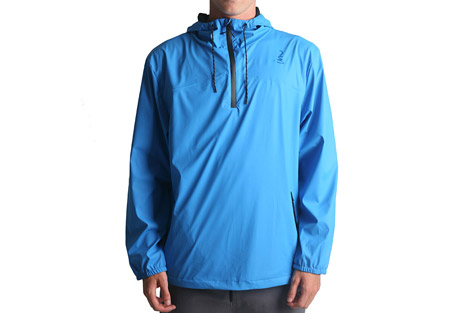 imperial motion brig 1/4 rain jacket - men's- Save 50% Off - The Brig Rain Jacket is a versatile 1/4 zip pullover.  Its waterproof shell, sealed seams, and waterproof zippers ensure that you stay dry. Elastic cuffs and an adjustable hood and hem give it a precise fit for better weather protection.    Features:  - 100% Polyurethane shell  - 1/4 zip with chin guard  - Seam sealed chest panels  - Bonded waterproof zippers  - Elastic cuffs  - Drawstring hem / hood