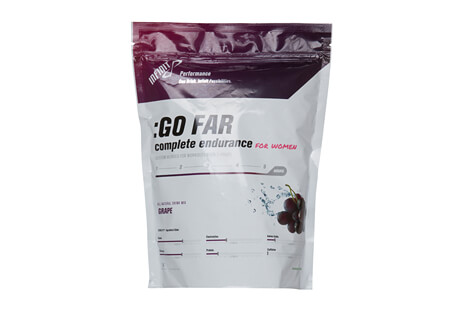 INFINIT :GO FAR Grape Endurance Fuel for Women - 18 Servings
