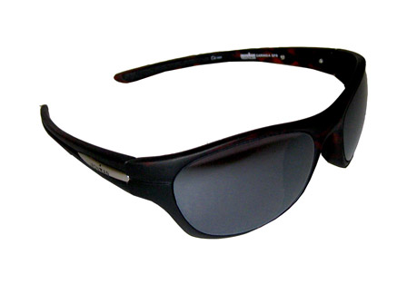 Ironman Caring Sunglasses - lens smoke w/multi colored red mirror, 2.0 mm lens