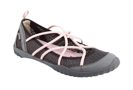 j-sport radiance shoes - women's- Save 46% Off - This water-ready take on the ballet flat boasts an elegant shape and lightweight feel, yet is guaranteed to handle any wet terrain you come across on your quests. Crafted from breathable mesh and vegan microbuck, the Radiance is adventure-ready. This closed-toe water shoe secures you in and easily takes you from lunch with friends to kayaking on the open sea.  Features:  - Mesh/Microbuck upper  - Partially recycled rubber All-Terra outsole  - Antibacterial footbed  - Water Ready  - Slip on  - Weight: 4.32 oz