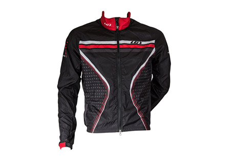 louis garneau prolight jacket - men's- Save 33% Off - Louis Garneau Men's Size Chart  Lightweight, stowable jacket. Perfect for training features a 2-way zip with inner flap, back reflective tape, and moisture wicking properties.   Features:  - Pro Fit: Close to the body. Performance cut with comfort in mind.  - Microzone fabric: Lightweight and resistant, this fabric is an excellent breathable windbreaker. WR (water repellent) finish to protect against the elements. Very Light weave: 100% polyester microfilament.  - Lower back in Light Micro-Airdry: Made of small inner honeycombs to increase airflow and wick moisture. This knit has a UPF/SPF 30. 2-way mechanical stretch knit: 100% polyester microfiber.  - Front length, medium size: 24''/ 61 cm  - Raglan sleeves  - Side panels  - 3 back pockets with reflective trim  - Full length two way zip with garage and inner flap  - Elastic at wrists  - Signature silicone gripper at hem  - Fully sublimated  - Overlock seams  - GARNEAU back reflective accent