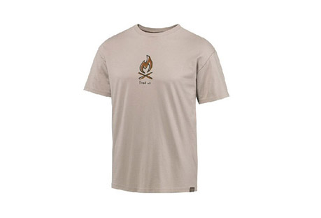 Life is Good Grass Roots Fire Organic Tee - Mens
