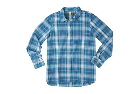Life is Good Down Home Plaid Shirt - Women's