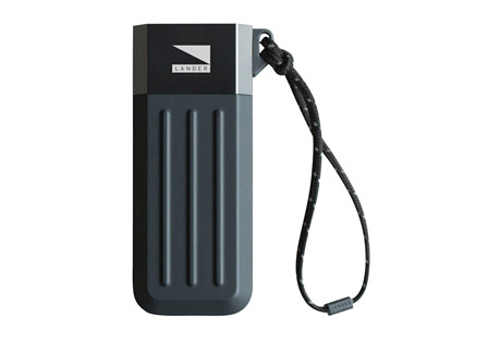 lander cascade 5200 mah powerbank- Save 56% Off - Untethered power to keep the adventure going. The Cascade is a series of universal power banks. Featuring the signature coining design, these power banks are built to last while maintaining a sleek profile. The Cascade series will keep you powered up when you need it most.  Features:  - Smart Charge Technology  - LED Power Indicators  - Illumaweave reflective lanyard  - Pre-charged  - Auto-off energy saving mode and smart charge technology  - Stylish ridges: Inspired by reinforced steel containers  - Alternate images may show different size product, yet accurately display the use and features