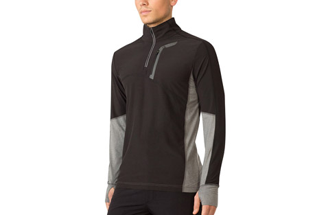 mpg contra run pullover - men's- Save 55% Off - MPG Men's Size Chart  Contrast stretch panels add a sporty and modern edge to this mid-layer design. The stretchy, wind-resistant shell and 360-degree reflectivity make cycling and running a breeze. Polygiene technology creates an odor-resistant fabric that stays fresh, wear after wear.  Features:  - Moisture wicking/quick dry  - Wind resistant front and top sleeve  - 360-degree reflectivity  - Chest pocket secured storage  - Soft stretch panels  - Thumbhole cuffs  - Main Fabric: Flex Light Woven - 90% Polyester 10% Spandex  - Trim: Soft Hand Feel Jersey - 88% Polyester 12% Spandex