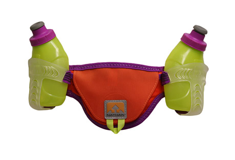 nathan speed 2 hydration belt- Save 49% Off - Limited-stretch, ultra-soft, VELCRO(R) closure belt stays bounce-free while molded holsters with two 10 oz/300 ml Flasks guarantee one-handed, on-the-fly access.   Features   - For belt: hand-wash only. Penguin Sport-Wash recommended  - Flasks and caps are dishwasher-safe (top rack only)  - Flasks are BPA-free  - Not for use with hot liquids - do not microwave  - Size:   S: 26-32