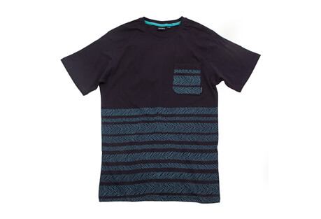 Nixon Nadelos S/S Knit Pocket Tee - Men's