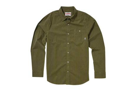 Nixon Foster Long Sleeve Woven Shirt - Men's